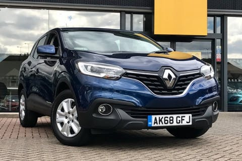 Blue Renault Kadjar Expression Plus Tce 2018