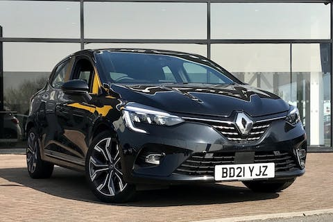 Black Renault Clio S Edition Tce 2021