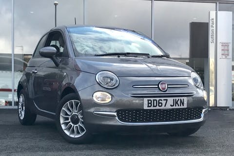 Grey FIAT 500 Pop Star 2018