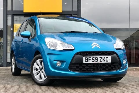 Blue Citroen C3 Vtr Plus 2010