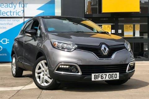 Grey Renault CAPTUR Dynamique Medianav Energy DCi S/S 2017