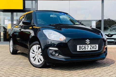 Black Suzuki Swift Sz-t Boosterjet 2017