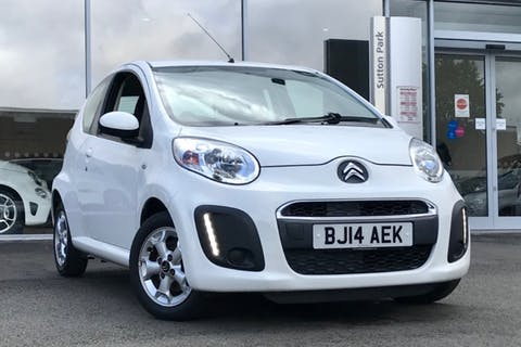 White Citroen C1 Edition 2014