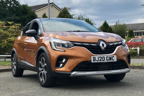 Orange Renault Captur S Edition Tce Edc 2020