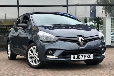 Grey Renault Clio Play 2017