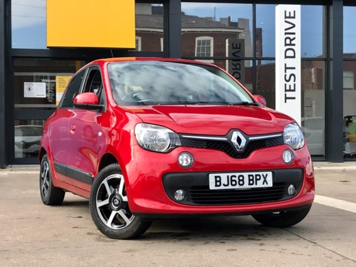 Red Renault Twingo Iconic Tce 2018