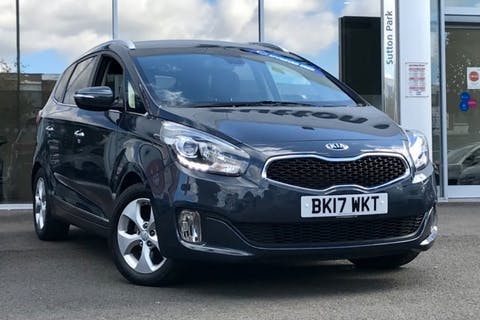 Blue Kia CARENS CRDi 2 Isg 2017