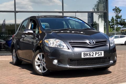 Grey Toyota Auris VVT-i Colour Collection 2012