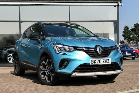 Black Renault Captur S Edition E-tech 2020