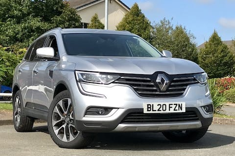 Silver Renault Koleos Iconic DCi X-tronic 2020