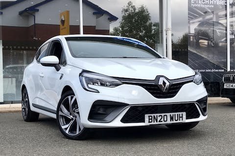 White Renault Clio RS Line Tce 2020
