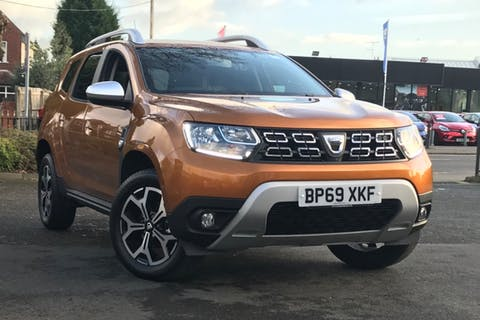 Orange Dacia Duster Prestige Dci 2019