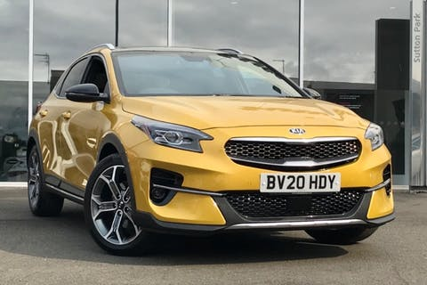Yellow Kia Ceed Xceed First Edition Isg 2020