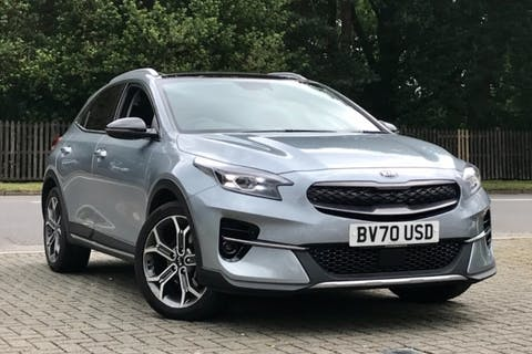 Silver Kia Ceed Xceed First Edition 2020