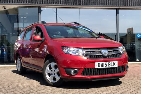 Red Dacia Logan Mcv Laureate Dci 2015