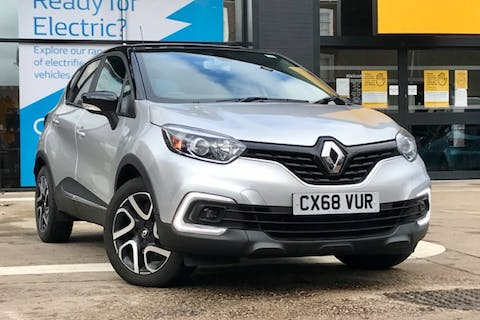 Black Renault CAPTUR Iconic Dci 2018
