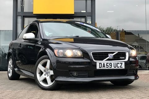 Black Volvo C30 R-design 2009