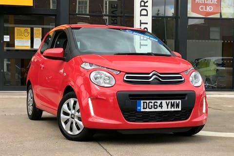 Orange Citroen C1 Feel 2014