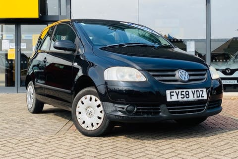 Black Volkswagen Fox Urban 6v 2008