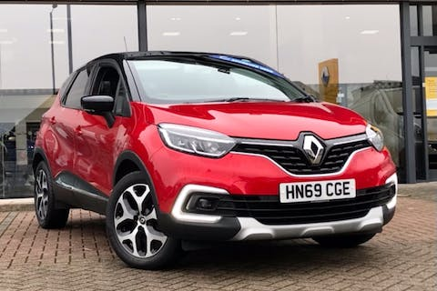 Red Renault Captur GT Line Tce 2019