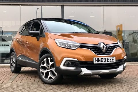 Orange Renault Captur GT Line Tce 2019