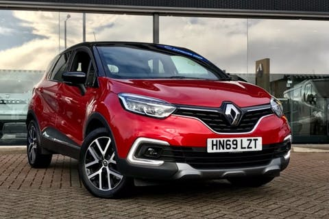 Red Renault CAPTUR S Edition Tce 2019