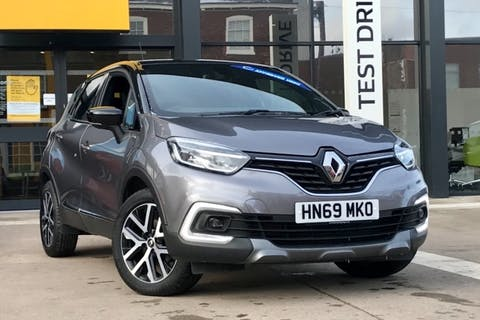 Black Renault Captur S Edition Tce 2019