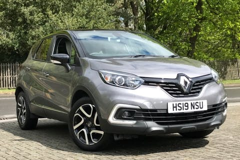 Grey Renault Captur Iconic Tce 2019