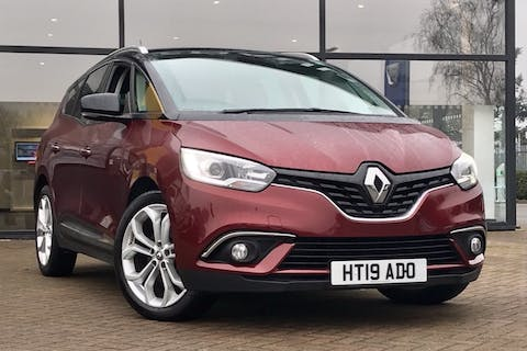 Black Renault Grand Scenic Iconic Tce 2019