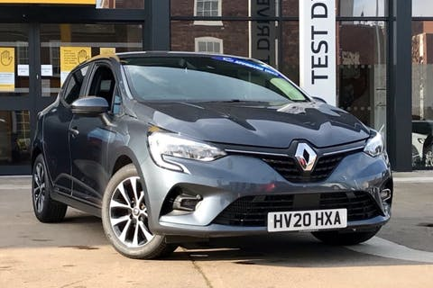 Grey Renault Clio Iconic Tce 2020