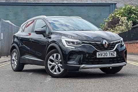 Black Renault Captur Iconic Dci 2020