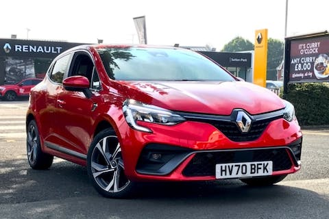 Red Renault Clio RS Line Tce Edc 2020