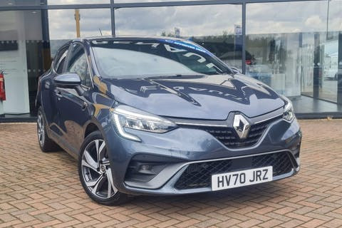 Grey Renault Clio RS Line Tce Edc 2020