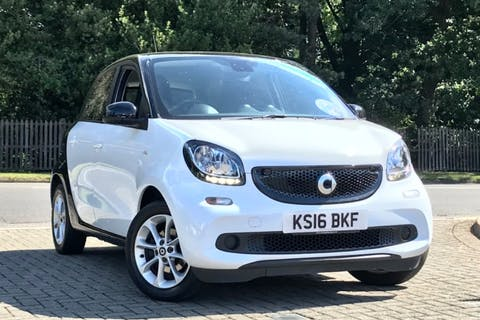 White smart forfour Passion Premium T 2016