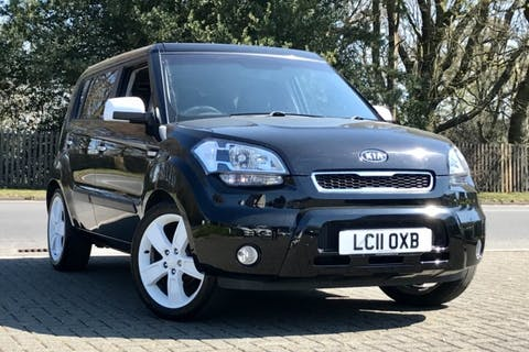 Black Kia Soul Echo 2011