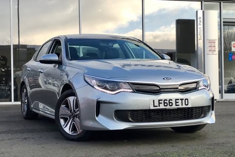 Silver Kia Optima Phev 2016