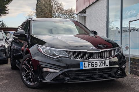 Black Kia Optima CRDi 3 Isg 2019
