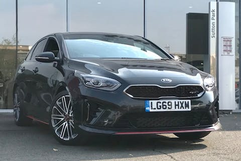 Black Kia Proceed GT Isg 2019
