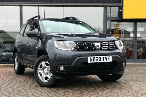 Grey Dacia Duster Essential Tce 2019