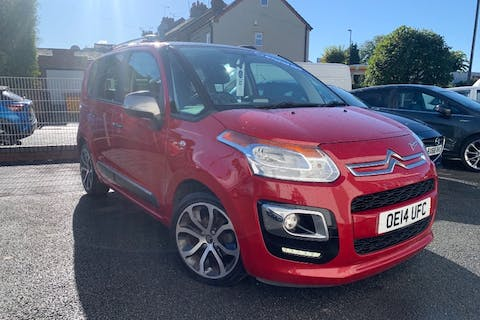 Red Citroen C3 Picasso Selection HDi 2014