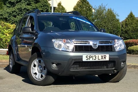 Grey Dacia Duster Ambiance Dci 2013