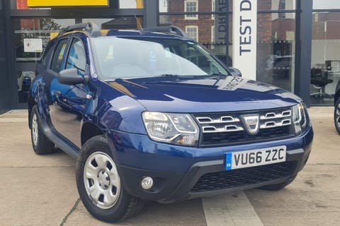 Blue Dacia Duster Ambiance Sce 2016