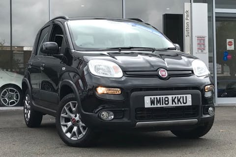 Black FIAT Panda MultiJet 2018