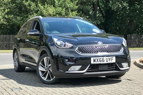 Black Kia Niro First Edition 2016