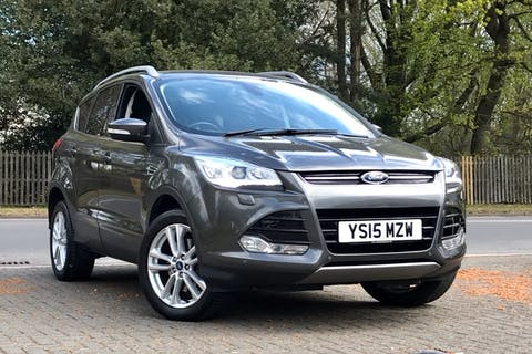 Grey Ford Kuga Titanium X 2015