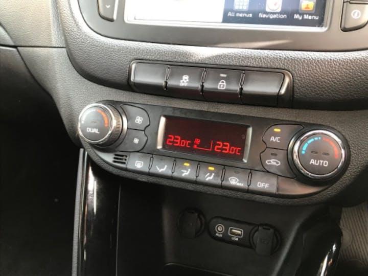 Red Kia Ceed CRDi GT-line Isg 2018