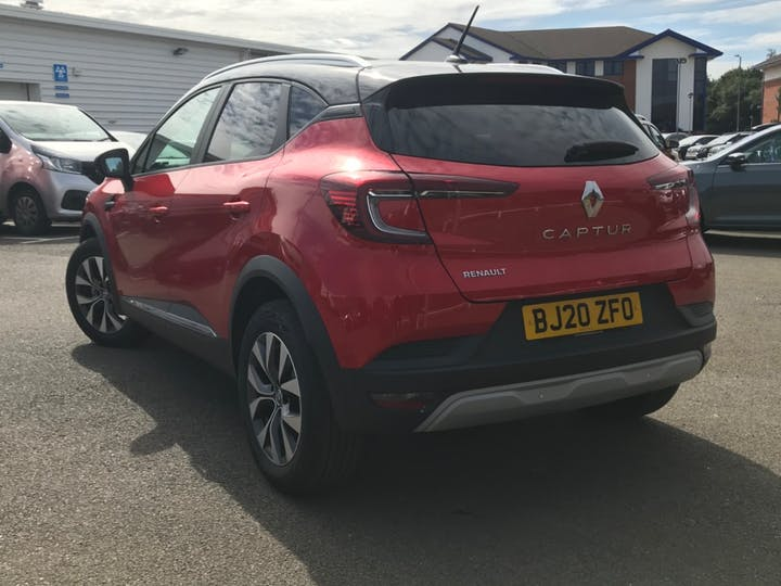 Black Renault CAPTUR Iconic Tce 2020