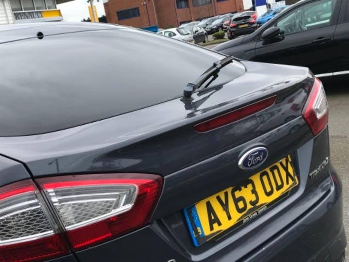 Grey Ford Mondeo Titanium X Business Edition TDCi 2013