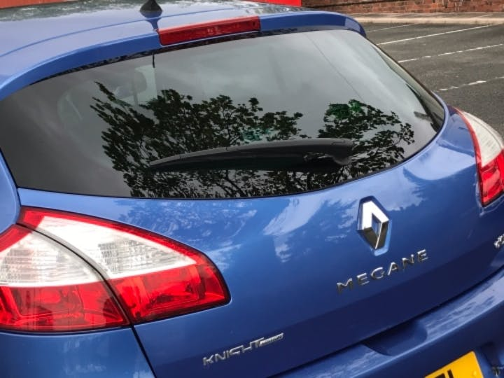 Blue Renault Megane Knight Edition Energy DCi S/S 2014