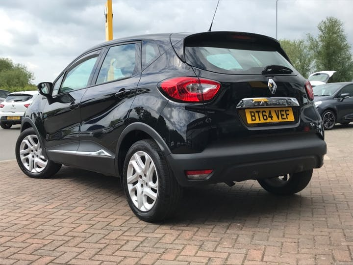 Black Renault Captur Dynamique Medianav Energy Tce S/S 2014